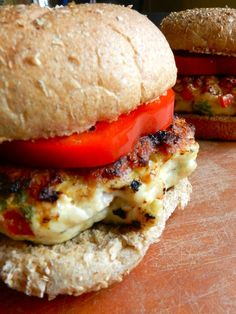 Tropical Chicken Burgers