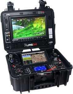 Ground Control Station FPV & UAV, Long Range Radio Control and telemetry Video system anlog or digital Drone Technology, Technology Gadgets, Tech Gadgets, Robotic Automation, Pelican Case, Tactical Equipment, Cool Tech, Ham Radio, Electronics Projects