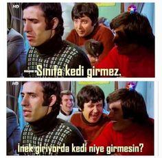 Hababam sınıfı Movie Lines, Turkish Actors, Film Movie, Grammar, Nostalgia, Jokes, Celebrities, Photography, Fictional Characters