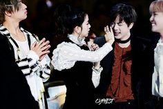 Jin and jisoo BTS couple