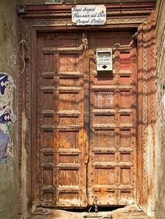 Doors and Windows of Old Lahore