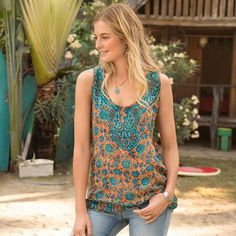DIADERE TUNIC - Sundance. Love Everything about this tank (except the price!!!)