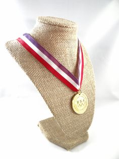 Olympic Committee Medal 1988 USA 1988 Medals by RusticWayTreasures