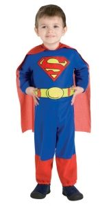 It's not a bird or a plane, it's your little superhero in this Superman Toddler Halloween Costume. With all the colorful details, including the classic Superman emblem and belt, this costume will have your child feeling super. Superman Baby, Toddler Boy Halloween Costumes, Baby Costumes For Boys, Halloween Fancy Dress, Infant Halloween, Superman Logo, Adult Costumes, Costume Ideas, Costumes