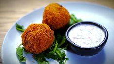 Olga & Valeria's Chicken Kiev Croquettes with Yoghurt Sauce - My Kitchen Rules Top Recipes, Cooking Recipes, Cooking Ideas, Easy Recipes, Russian Chicken, My Kitchen Rules, Chicken Gyros, Middle Eastern Recipes, Appetisers