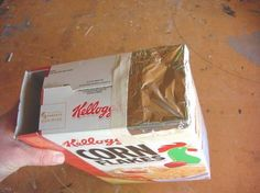 View the solar eclipse safely!  This is a DIY cereal box pinhole viewer- assembling instructions