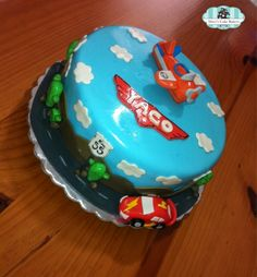 Planes and Cars Cake