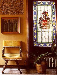 Entrance hall Casa Vicens   Gaudi