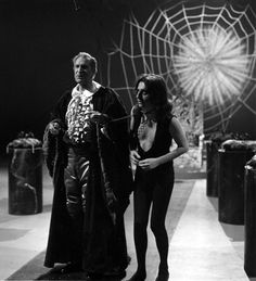 Vincent Price (Spirit of the Nightmare) and Alice Cooper (Steven) in the 'Alice Cooper: The Nightmare' television special (1975).  Image via the Alice Cooper Official Website: http://alicecooper.com/master