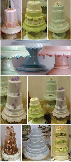 cakes...really want to find or borrow a nice vintage type cake plate for Emelia's birthday cake.....ideas anyone??!