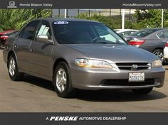 2000 Honda Accord Ex 6995 131k Mission Valley Kbb 5 645 In Excellent Condition
