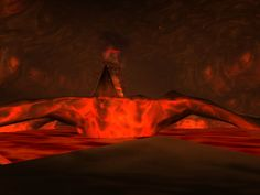 inside Ragefire Chasm, a dungeon under the Horde capital of Orgrimmar