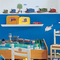 Thomas the Train and Friends Wall Decals for Train Themed Boys Rooms