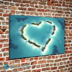 Sevgi Adası Tablo #natural_kanvas_tablolar #Manzara_tabloları