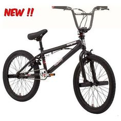 """20"""" Mongoose Brawler Pro Style Boys' BMX Bike: Your kid will ride like a rock star on the Mongoose Brawler Freestyle bike, made to help him get out there and try his hand at some super rad moves. This pro-style boys' BMX bike comes complete with four freestyle pegs for gnarly grinds, a 360 brake detangler/rotor for crisp handlebar spins, and 25x9T micro gearing with alloy pedals to keep the bike nice and lightweight."""