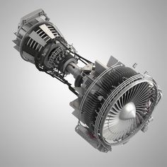 CFM56 Turbofan aircraft engine. Originally Modeled in 3ds Max 2011. Final images Rendered with V-Ray. The 3ds Max zip file Contains V-Ray Materials Scenes. Very detailed and high definition 3d Model of CFM56 Turbofan aircraft engine   Hassan Mohamed