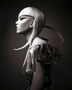 Futuristic Hair, Long Hair Designs, Textured Haircut, Avant Garde Hair, Editorial Hair, Naha, Hair Shows, Beauty Industry, Photography Women