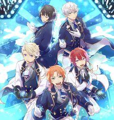埋め込み画像 Anime People, Anime Guys, Anime Group, Boy Idols, Cute Anime Boy, Ensemble Stars, Cute Anime Character, Guys And Girls, Boys