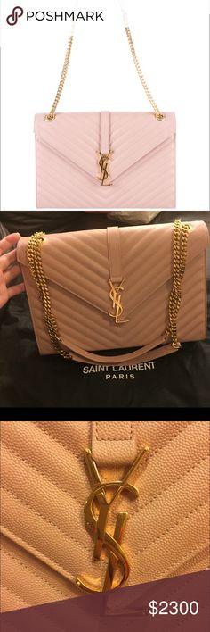 ac7af2ee3352 Saint Laurent large monogram shoulder bag 100% authentic guaranteed  otherwise money back!! In