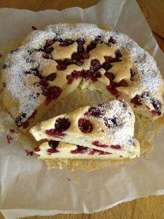 Szybkie ciasto jogurtowe z malinami. – Lady Laura Lady Laura, Apple Cake, Pie Recipes, Cooking, Ethnic Recipes, Foodies, Internet, Cakes, Food
