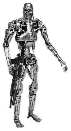 Exterminador do Futuro - Endoskeleton - Action Figure - Neca R$ 179.99 - Pens and Dolls
