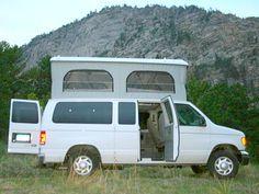 Colorado Campervan Ford Van Poptop - camperize: pop tops