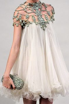 Lovely Princess Dress by Marchesa..luv the embellishment..gorgeous