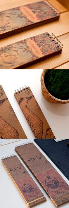notebook  www.grej.com.tr    kraft paper tall notebooks