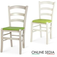 Sedia in legno colorata | Pinterest