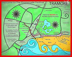We Make Maps! Hand drawn, custom-made, colourful, quirky maps. We provide high quality images ready to print for business brochures and tourist guides. Each commission is different so whether it& And July, Us Map, Red Dots, Business Brochure, Brochures, High Quality Images, Hand Drawn, Maps, How To Draw Hands
