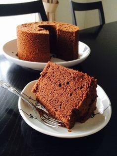 写真 Chiffon Cake, Sweet Cakes, Churros, Dessert Recipes, Desserts, Fudge, Donuts, Banana Bread, Sweets