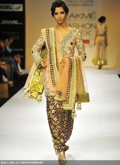 THE most beautiful suit of all time - Payal Singhal.  *sigh*