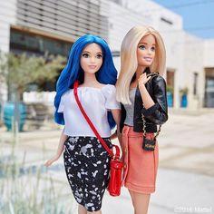 WEBSTA @ barbiestyle - Love the blue. Always do you!  #barbie #barbiestyle