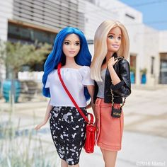 Love the blue. Always do you!  #barbie #barbiestyle