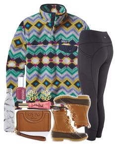 u have no idea how badly i want bean boots by thefashionbyem on Polyvore featuring Patagonia, Susan Shaw, Tory Burch, Essie, S'well and L.L.Bean