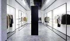 Joseph menswear by Sybarite Architects (London, 2016.02) #RetailDesign #DisplaySystems