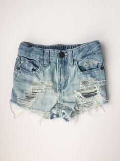 207fc38a6f Country Road Shorties, Girls Shorts, Baby/Toddler Acid Washed Cutoff Shorts