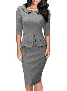Vintage Style Work Suit / Dress