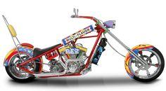 Orange County Choppers - #OCC - Pez Bike