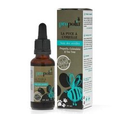 Ohrenpflegetropfen Propolis, Calendula, Teebaumöl für Hunde und Katzen