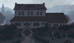 The Duke's Hunting Lodge, Mitchell Malloy on ArtStation at https://www.artstation.com/artwork/the-duke-s-hunting-lodge