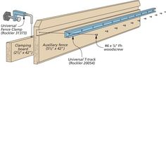 Handy Table Saw Add-On   Woodsmith Tips