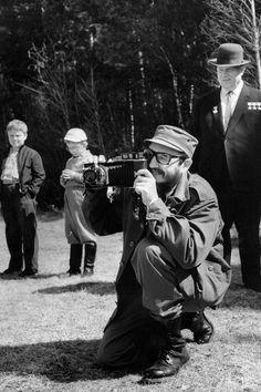 Fidel Castro com Nikita Khrushchev, durante uma visita oficial a Moscovo, em maio de 1963.