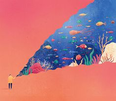 Whimsical Editorial Illustrations by Mark Conlan – Inspiration Grid | Design Inspiration