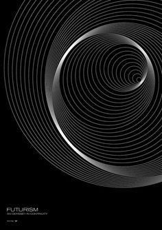Futurism - Orbits by Simon C Page