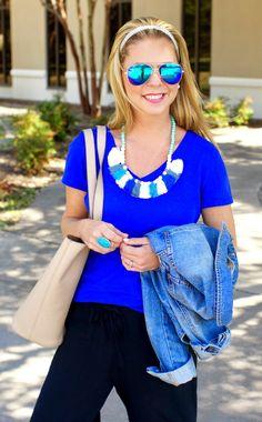 Beaded Tassel Necklace | Because Shanna Said So