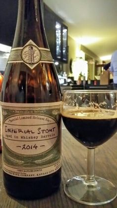 Boulevard Smokestack Series Imperial Stout. Watch the video beer review here…
