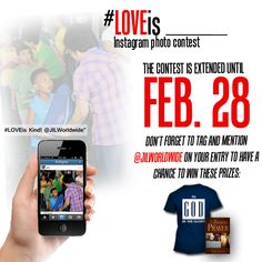 The contest is extended until Feb 28!