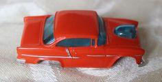 AURORA / AFX 55 Chevy Bel Air Orange/White No Motor Excellent condition