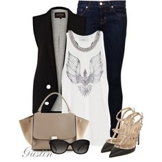 """""""valention pumps"""" by stacy-gustin on Polyvore"""